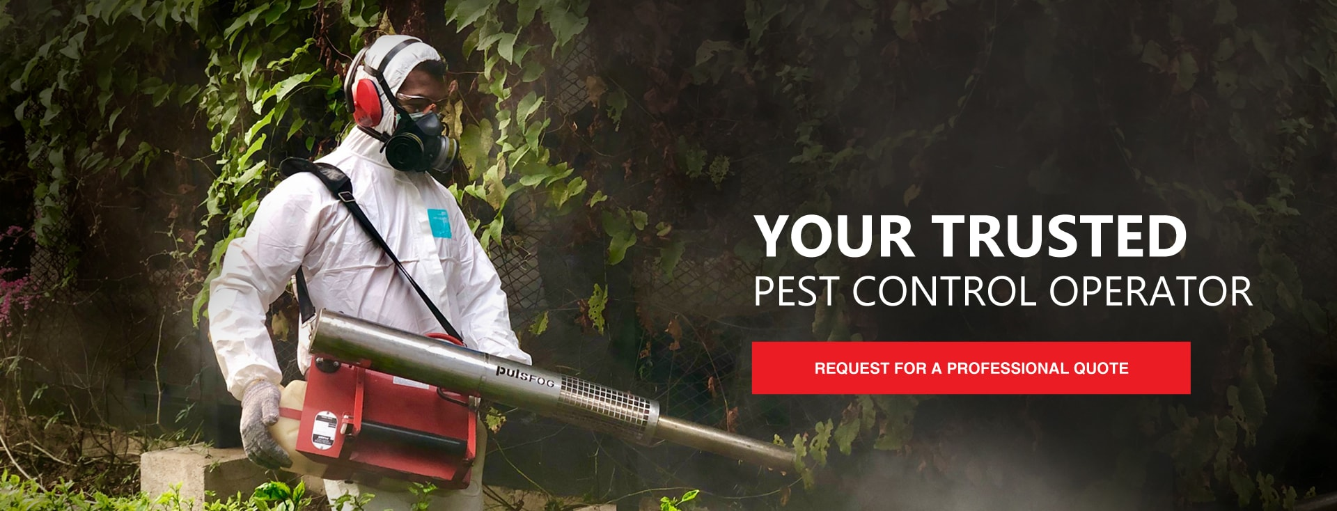 Your trusted pest control company